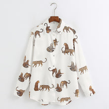 Load image into Gallery viewer, Large Cat Long Sleeve Shirts