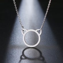 Load image into Gallery viewer, Cat Ear Pendant Necklace