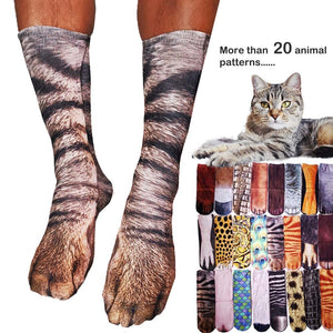 Animal Paw Print Socks