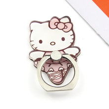 Load image into Gallery viewer, Cute Hello Kitty Metal Mobile Phone Finger Rings