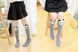Kids Animal Print High Knee Socks