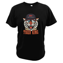 Load image into Gallery viewer, Tiger King cool graphic 100% Cotton T Shirts