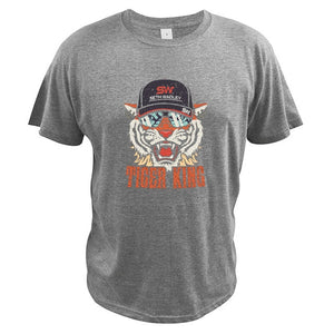 Tiger King cool graphic 100% Cotton T Shirts