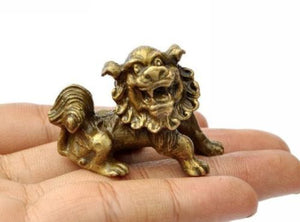 Lucky Chinese Fengshui Guardian Foo Fu Lion Statues