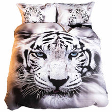 Load image into Gallery viewer, White Tiger Bedding Sets