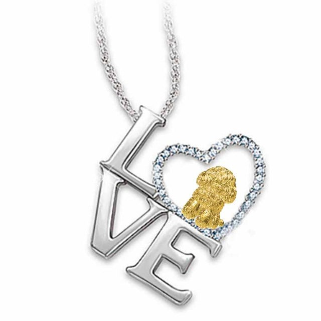 Berbeny 2020 NEW Love Cat Necklaces Girl Women Cute Lover Round Heart Crystal Pendant Necklace Couple gift Jewelry