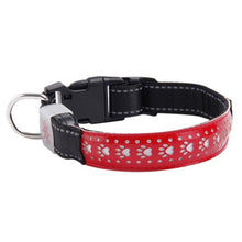 Load image into Gallery viewer, Super Bright USB Rechargeable LED Cat Safety Collar