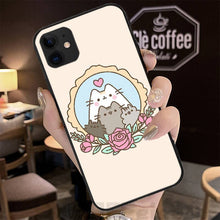 Load image into Gallery viewer, Pusheen iPhone cases