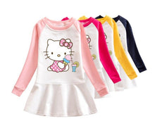 Load image into Gallery viewer, Cute Hello Kitty Baby Doll Dresses