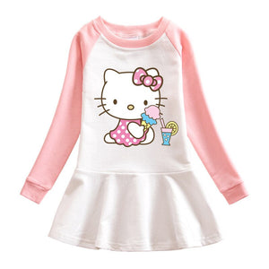 Cute Hello Kitty Baby Doll Dresses