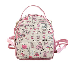 Load image into Gallery viewer, Hello Kitty Waterproof Large Capacity Backpacks