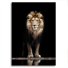 Load image into Gallery viewer, Wild Cats and Roaring Lion Canvas Prints