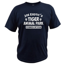 Load image into Gallery viewer, Joe Exotic's Tiger Animal Park Summer Intern T Shirts