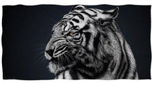 Load image into Gallery viewer, White Bengal Tiger Beach/Bath Towels