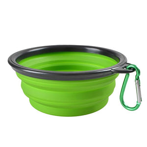 Collapsible Silicone Cat Bowl