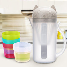 Load image into Gallery viewer, Cat Water Bottle Tea set