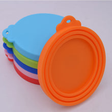 Load image into Gallery viewer, Cat Food Silicone Can/Tin Lid Covers.