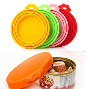 Cat Food Silicone Can/Tin Lid Covers.