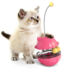 Load image into Gallery viewer, Interactive Cat Tumbler Toy Food Dispenser