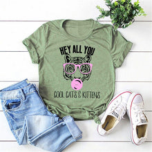 Load image into Gallery viewer, Hey All You Cool Cats and Kittens Tiger King T-shirts