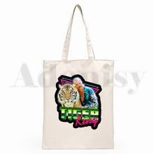 Load image into Gallery viewer, Joe Exotic The Tiger King Canvas Shopping Bags