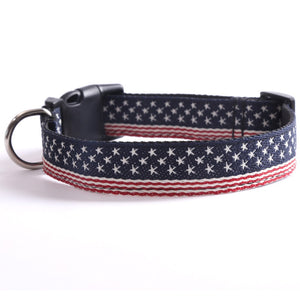American Flag Cat Collar