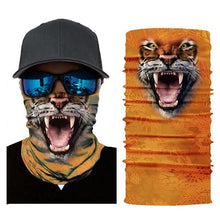Load image into Gallery viewer, Animal Print Tube Bandanna