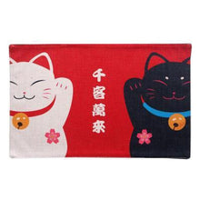 Load image into Gallery viewer, Cute Colorful Lucky Cat Table Mats