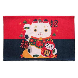 Cute Colorful Lucky Cat Table Mats