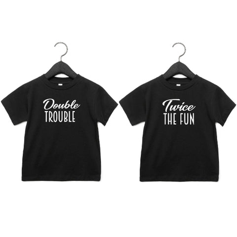 T-shirts | Double Trouble, Twice the Fun | NIKKI-LAUREN.COM