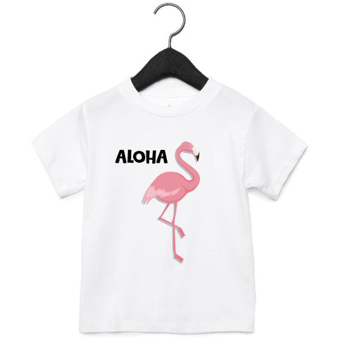 T-Shirt | Flamingo | NIKKI-LAUREN.COM