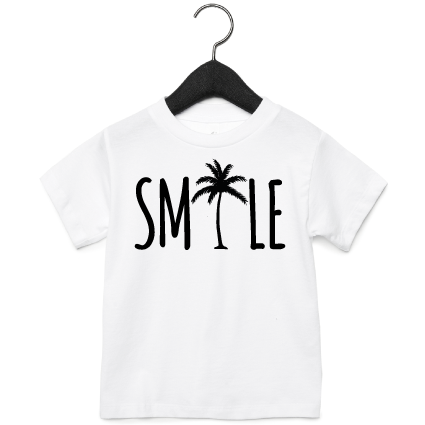T-Shirt | Smile | NIKKI-LAUREN.COM