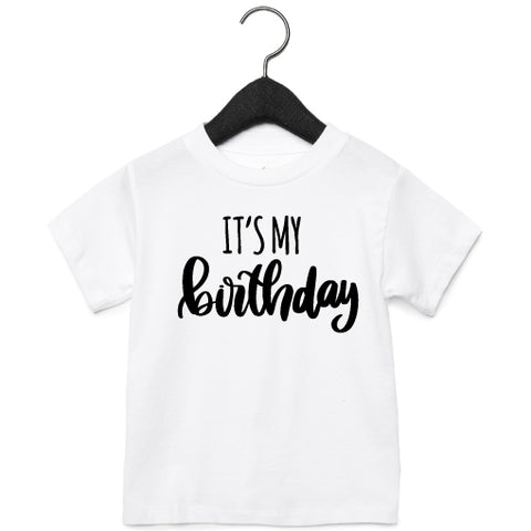 T-Shirt | It's my birthday | NIKKI-LAUREN.COM