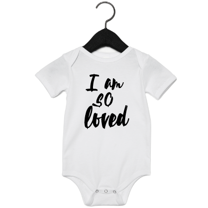 Romper | I am so loved | NIKKI-LAUREN.COM