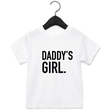 T-shirt | Daddy's Girl | NIKKI-LAUREN.COM