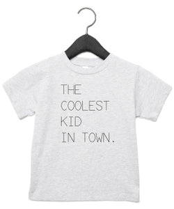 T-Shirt | Coolest kid in town | NIKKI-LAUREN.COM
