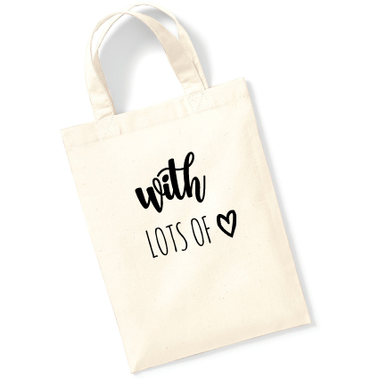 Cadeautasje | With love | NIKKI-LAUREN.COM