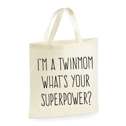 Tasje | I'm a Twinmom, what's your superpower? | NIKKI-LAUREN.COM