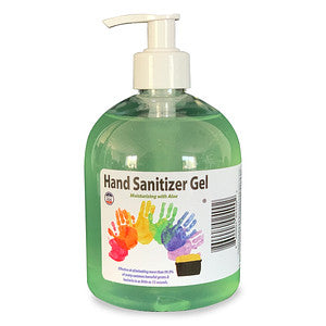 Carton (9) 16.9 oz. Hand Sanitizer Gel