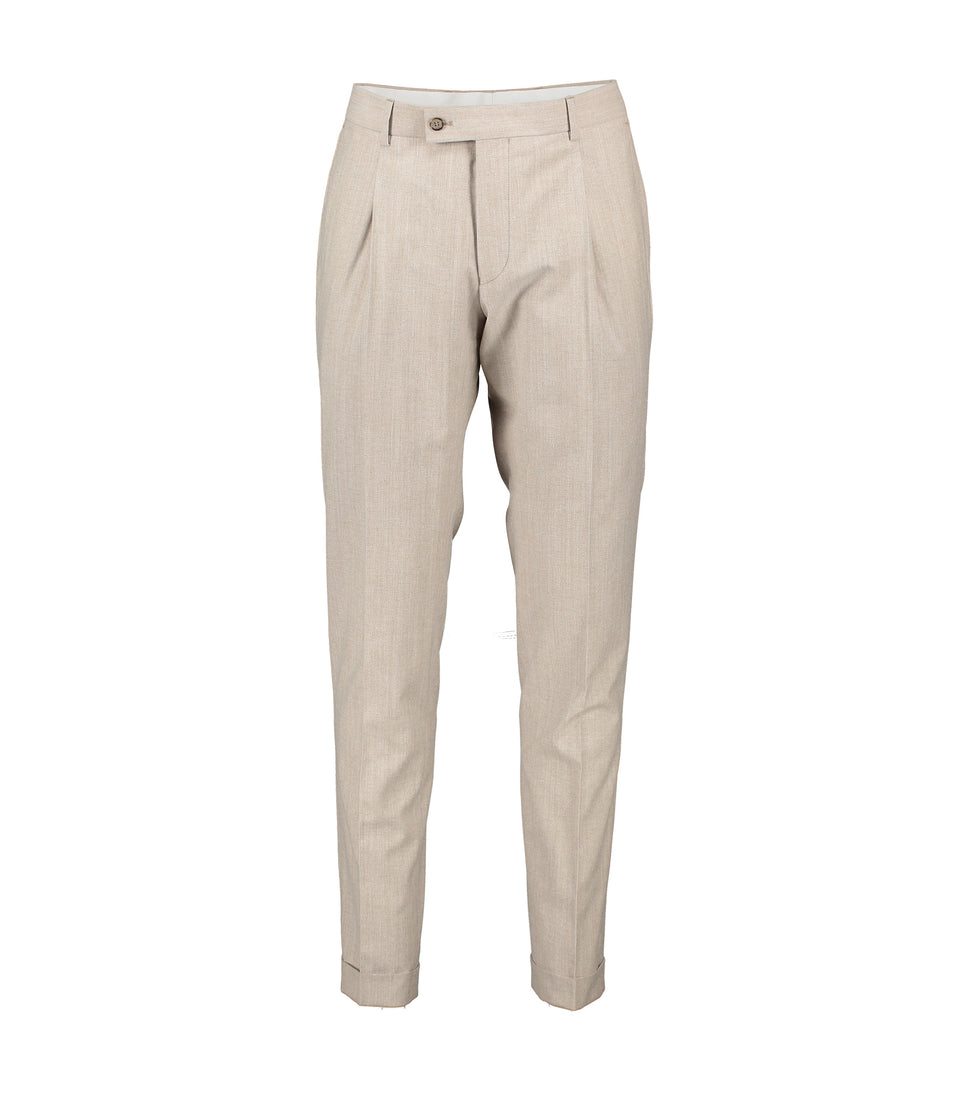 Alex Beige Trousers