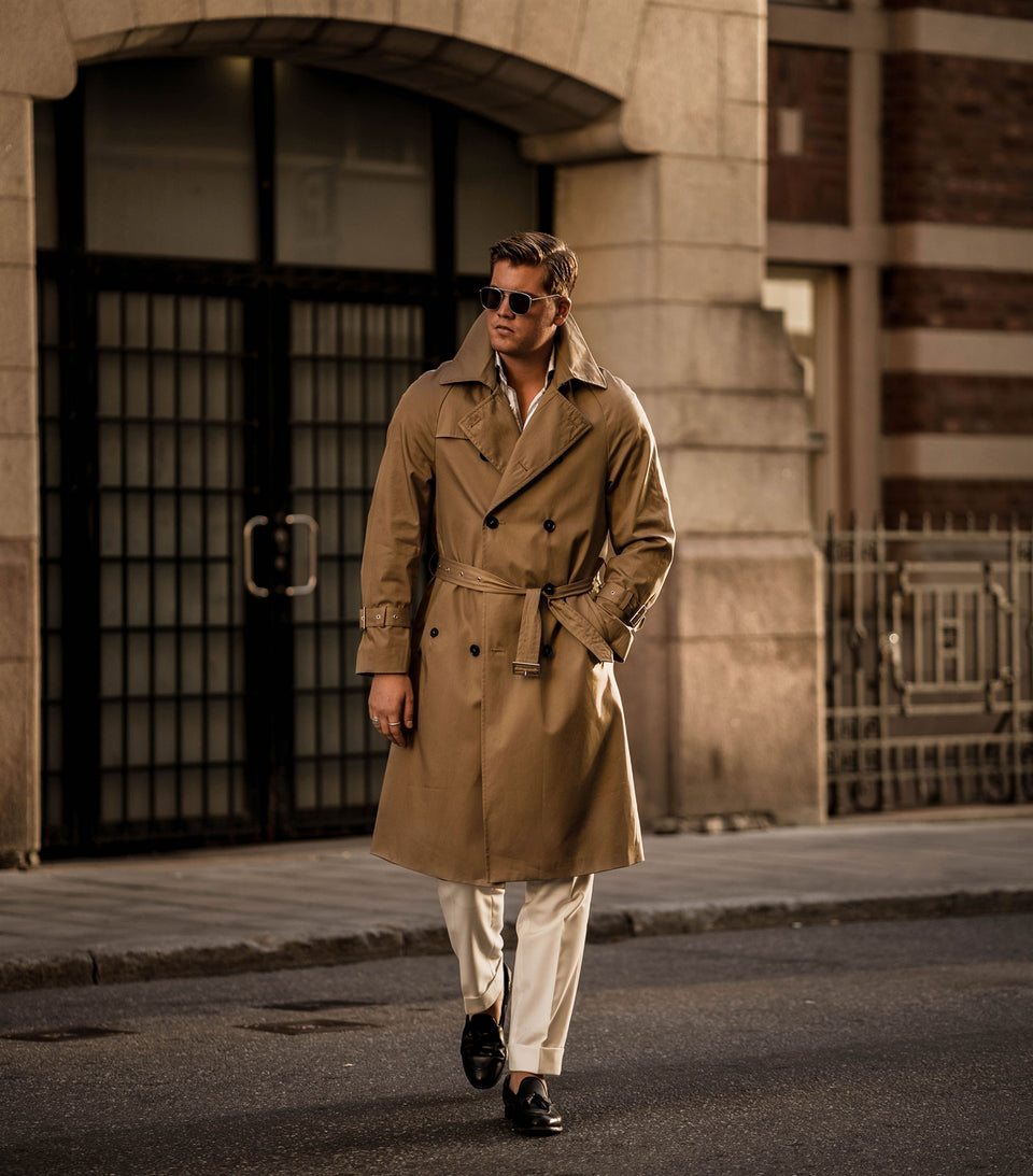 Dick Beige Trench Coat