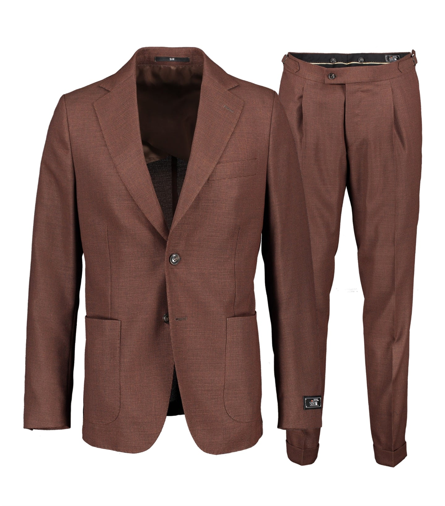 Ness Brown Suit