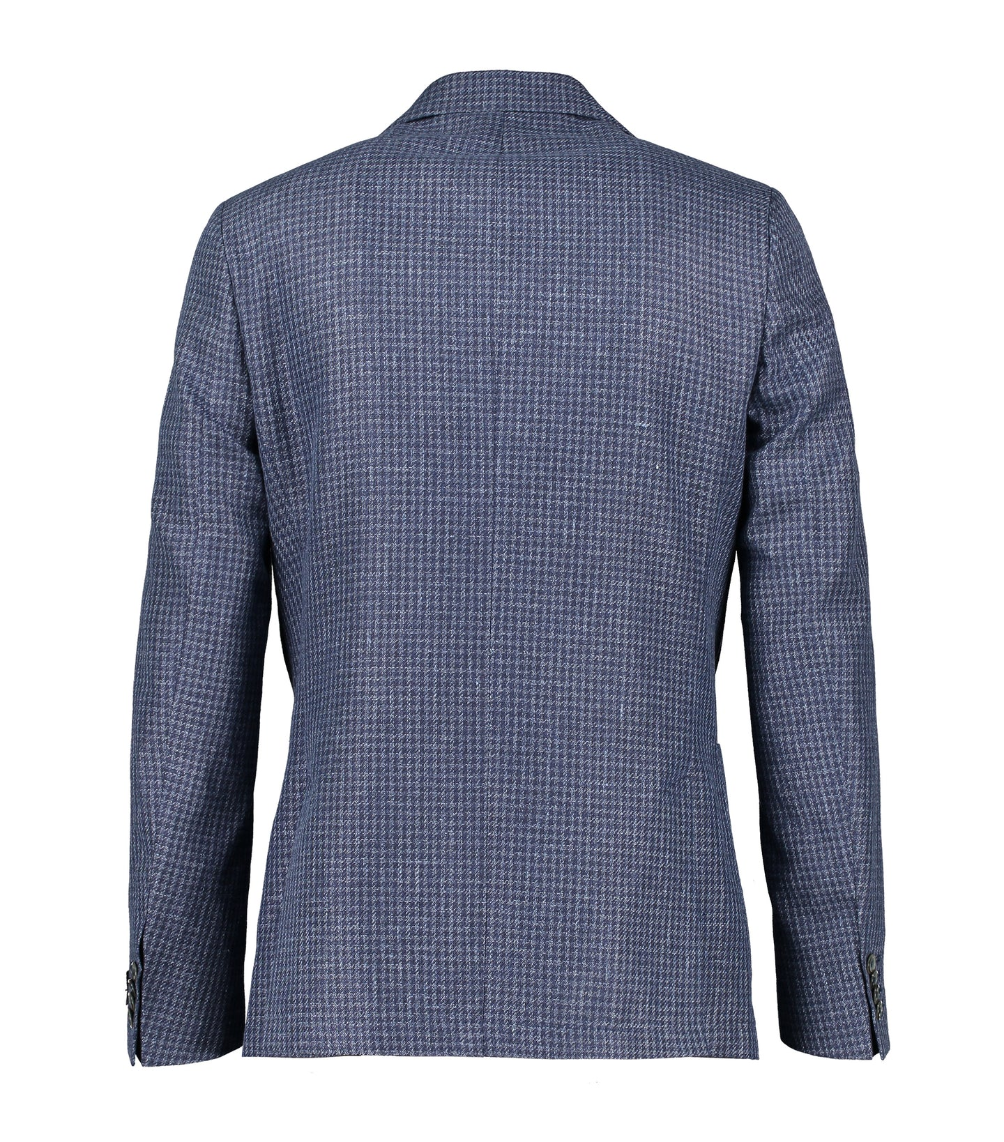 Ness Blue Houndstooth Jacket
