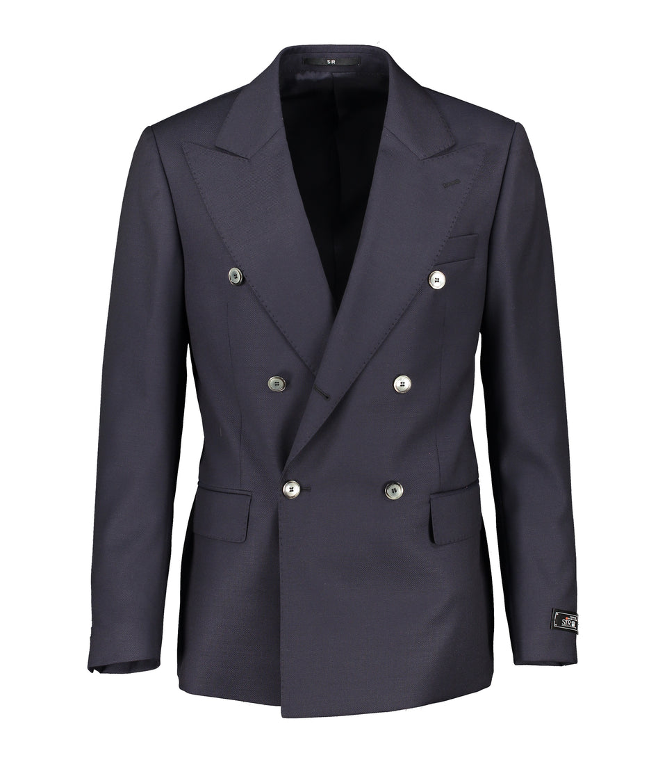 Ralph Navy Double-Breasted Jacket