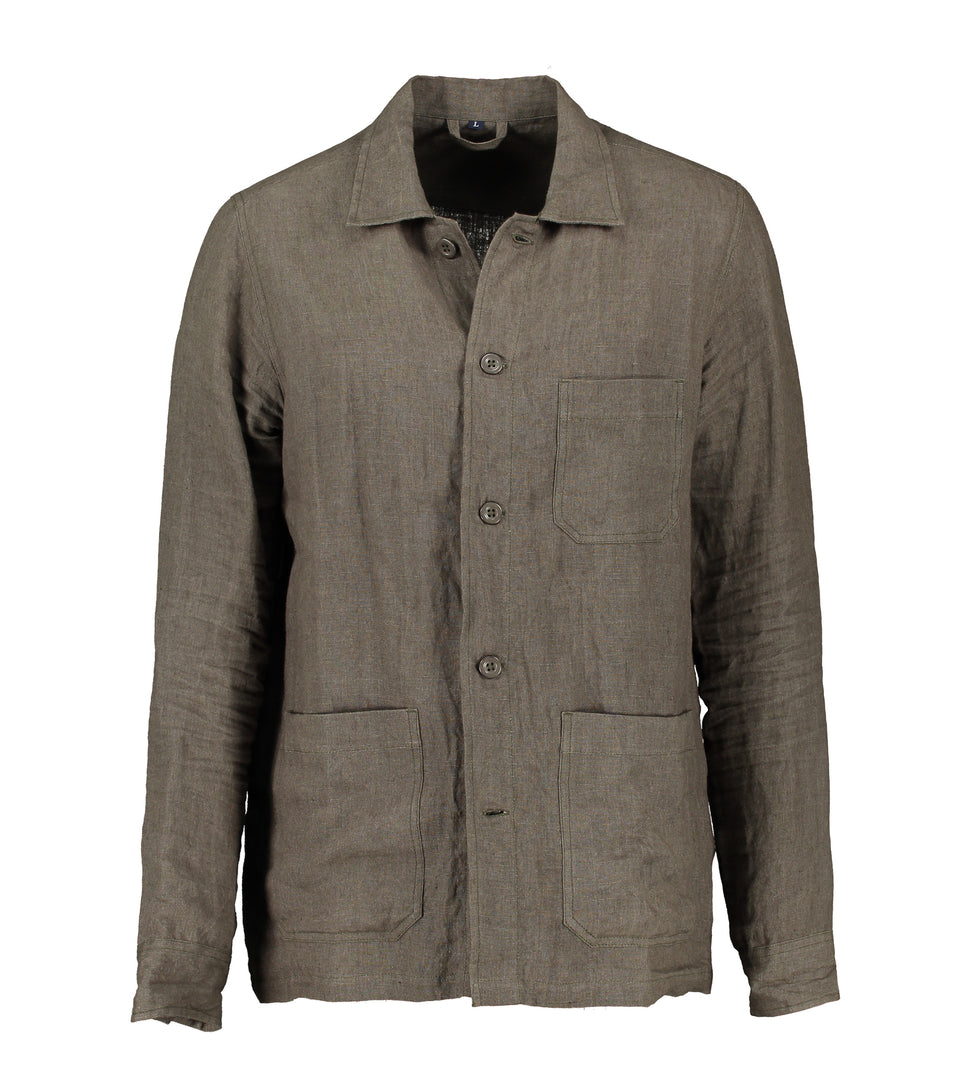 Solace Green Overshirt