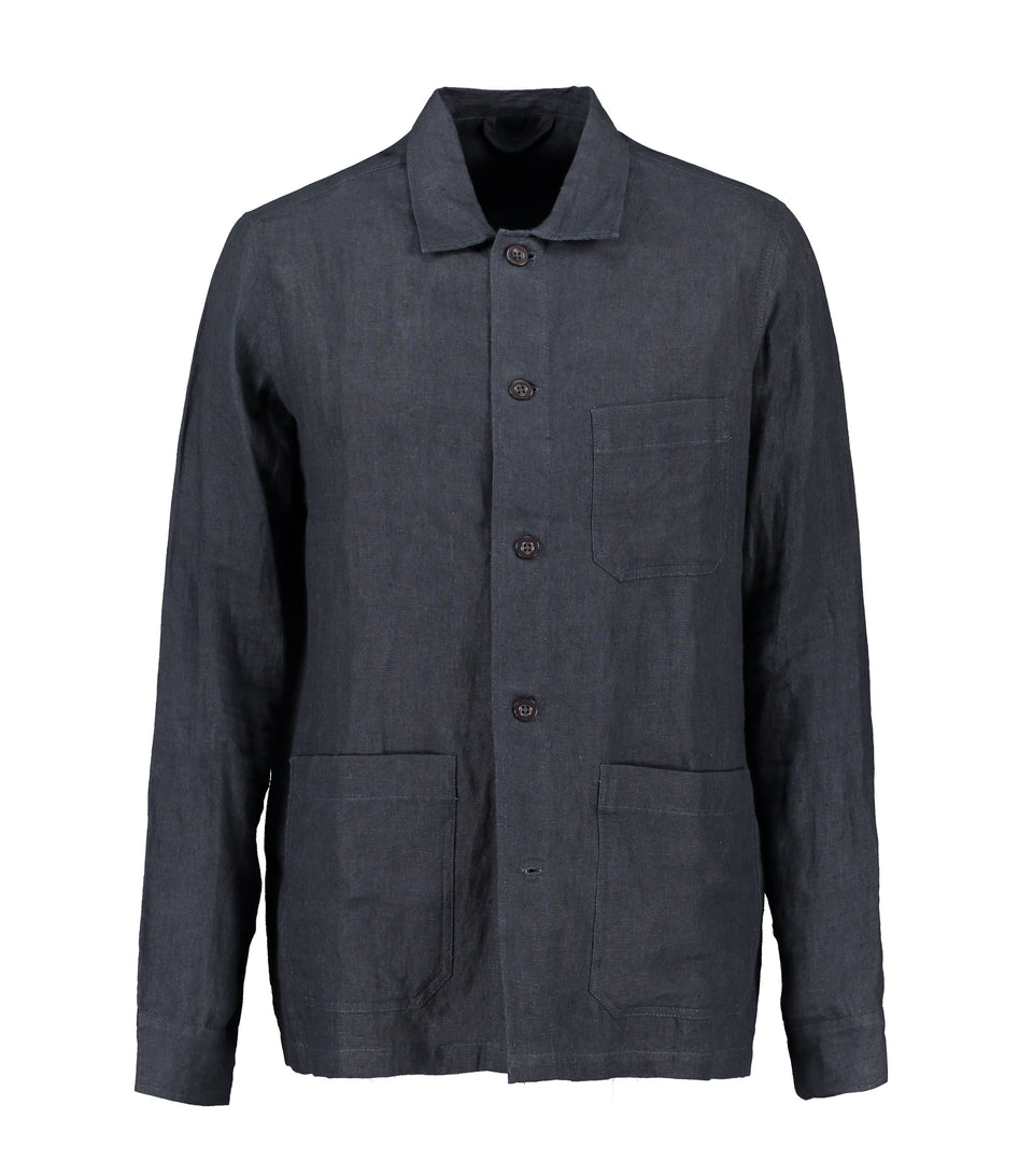 Solace Navy Overshirt