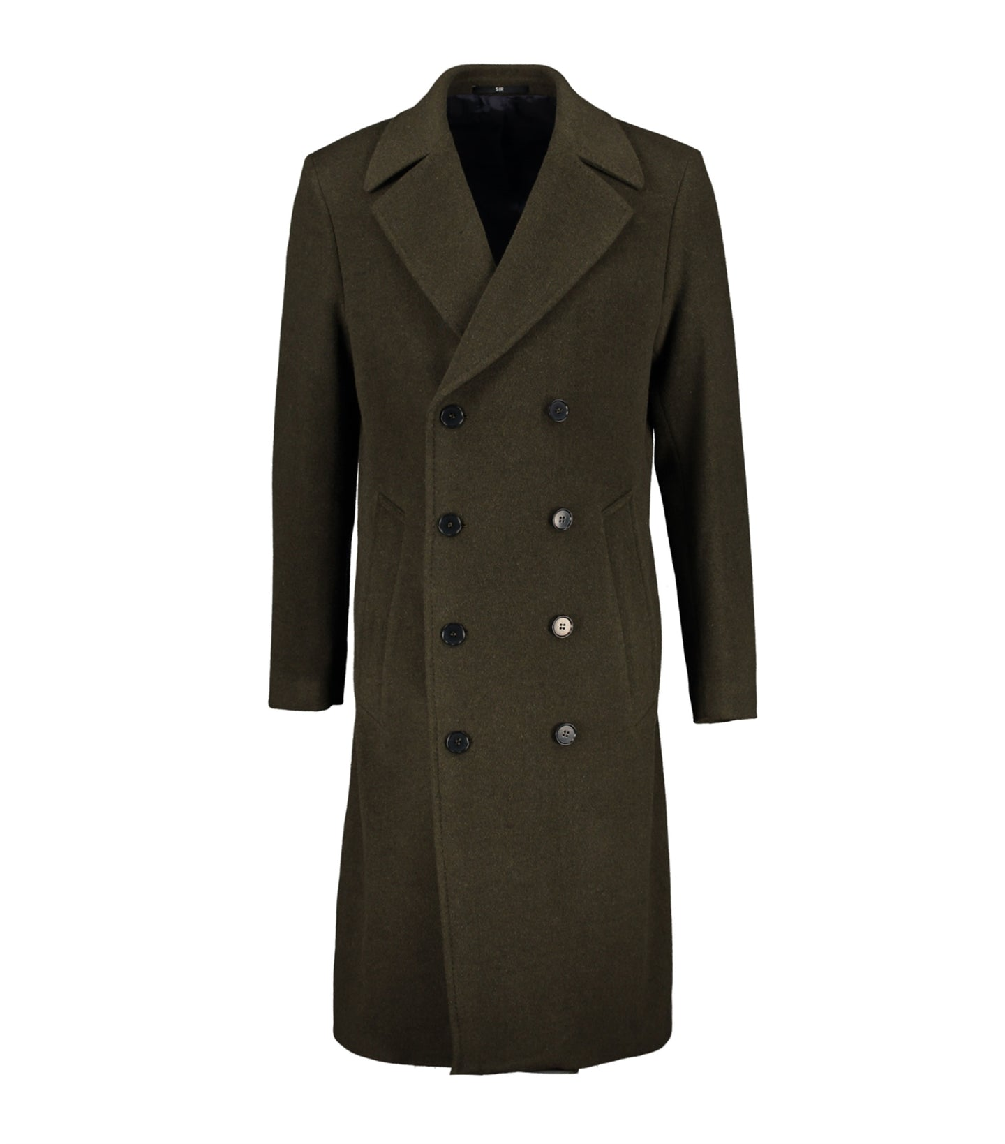 Spectre Green Double-Breasted Coat