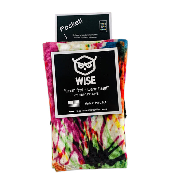 Wise Socks (Splatter)