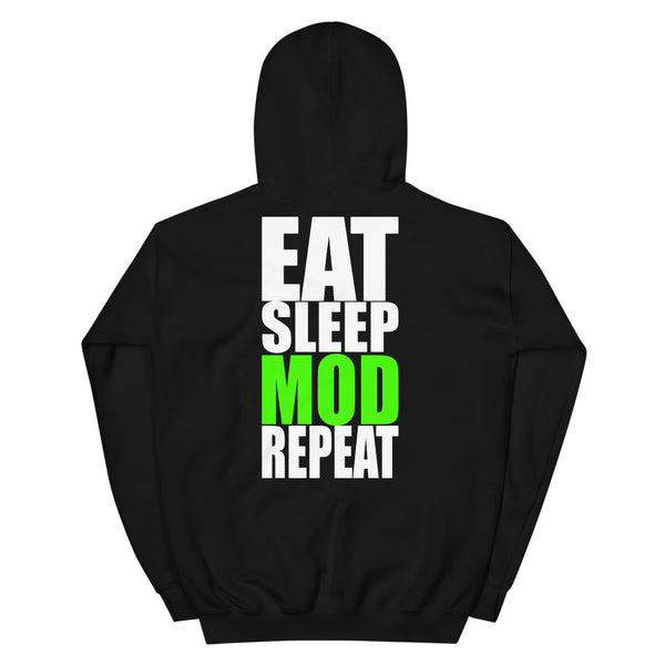 Eat Sleep MOD Repeat Hoodie