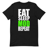 Eat Sleep MOD Repeat Short-Sleeve T-Shirt